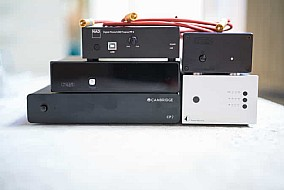 5 Phono Preamps with audio cable