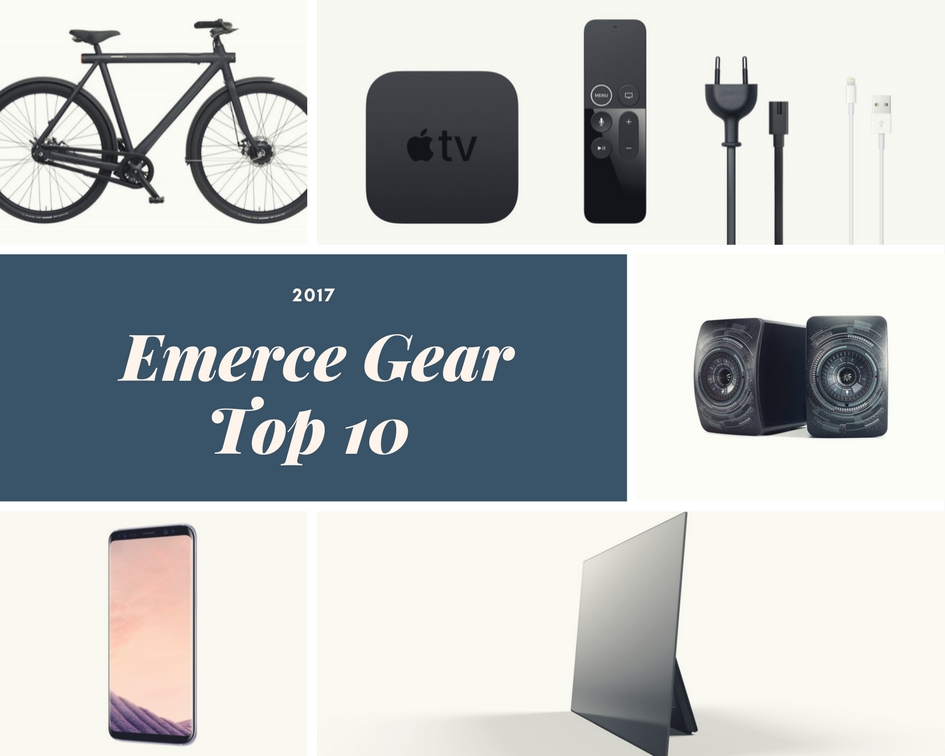 De Emerce Gear Top 10 van 2017 Sander van der Heide