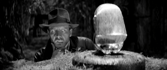 Raiders of the lost ark BW