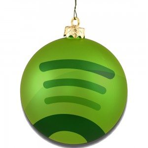 spotify christmas ball